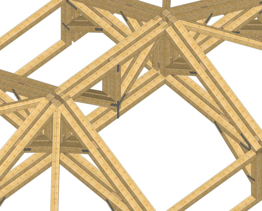 Dise o y mecanizado a medida maderas jimeno - Estructura tejado madera ...