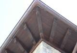 Alero de madera con perrotes - Maderas Jimeno