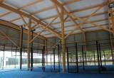 Estructura de madera laminada grandes luces - Maderas Jimeno