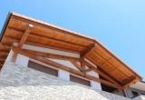 Estructura con cercha de madera - Maderas Jimeno
