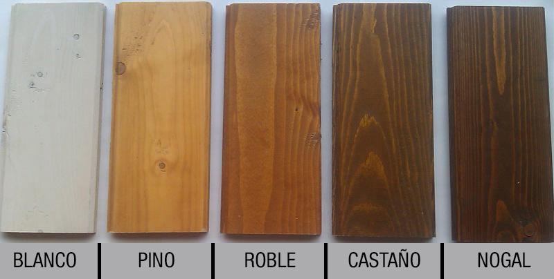 Colores de las maderas - Colores madera muebles ...